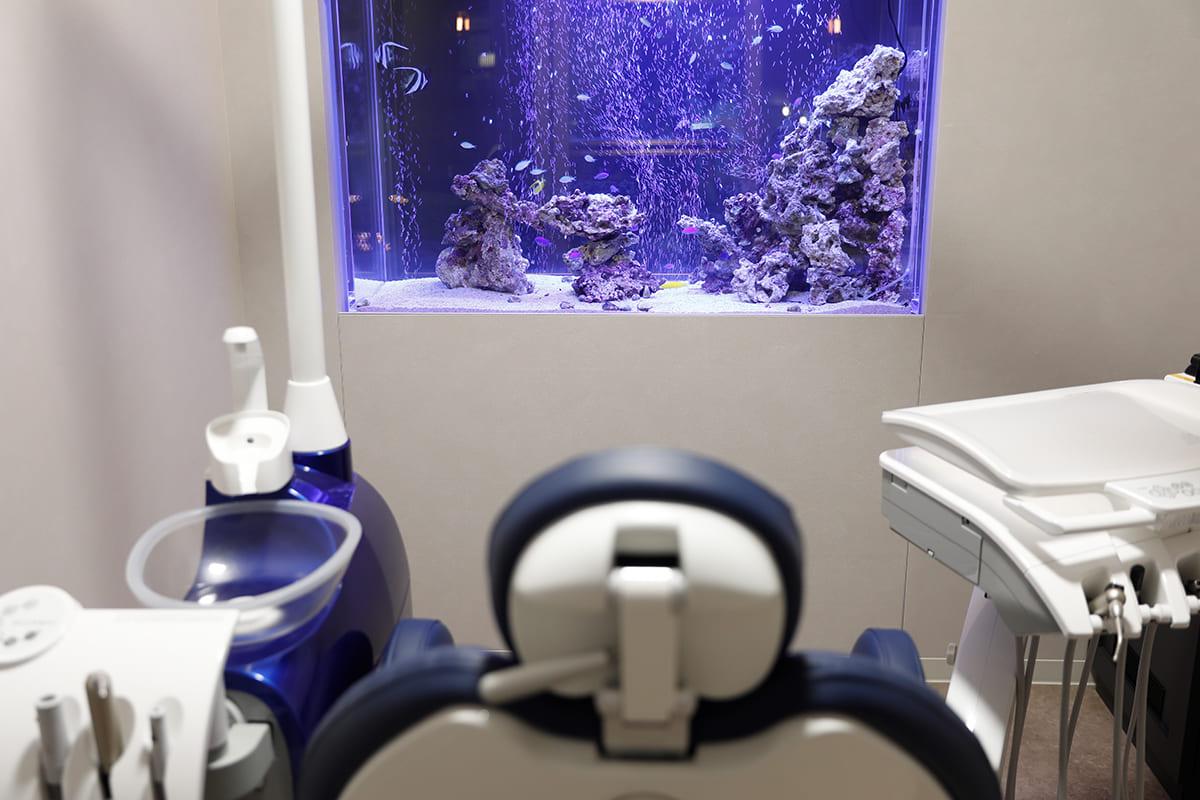 世田谷区の歯医者 尾山台駅前歯医者 歯科医院であることを忘れさせるおもてなしを