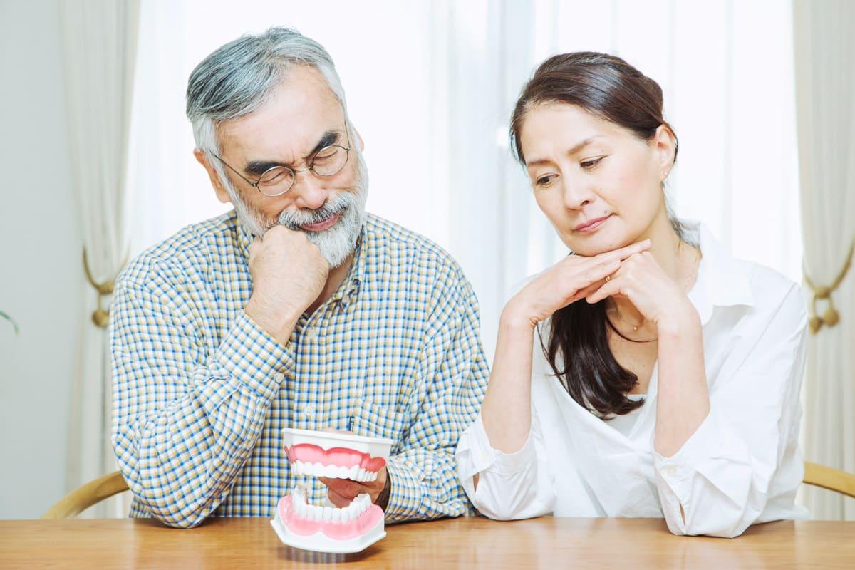世田谷区の歯医者 尾山台駅前歯医者 義歯・入れ歯 あなたの入れ歯は本当に自分にあっていますか?
