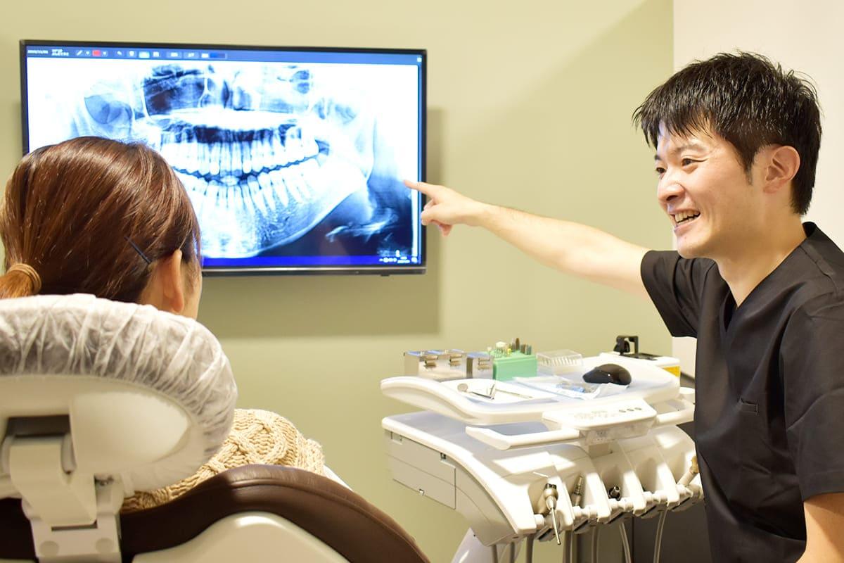 世田谷区の歯医者 尾山台駅前歯医者 各分野が得意な歯科医師と相談し、より良い治療をご提供