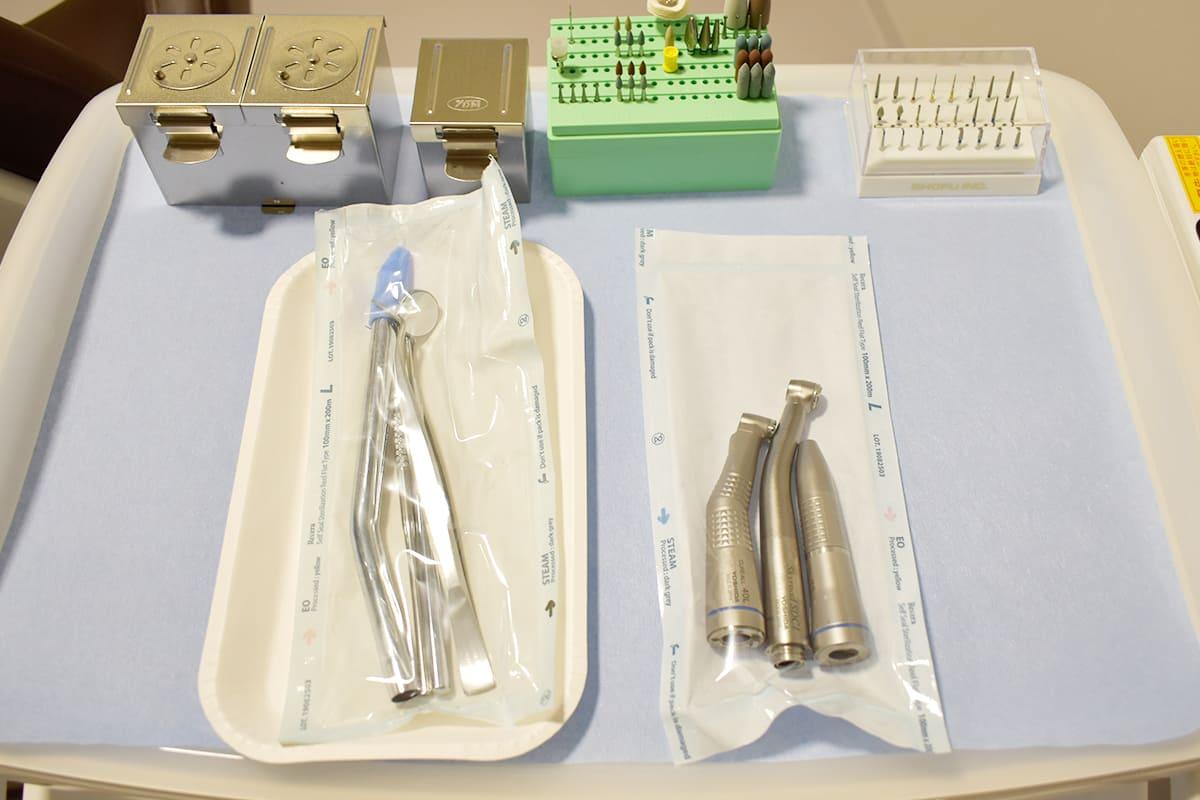 世田谷区の歯医者 尾山台駅前歯医者 設備紹介 滅菌器