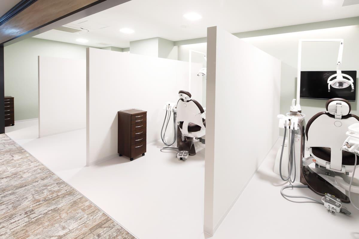世田谷区の歯医者 尾山台駅前歯医者 設備紹介 診療スペース